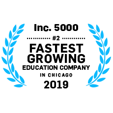 Inc. 5000 #11 Fastest Growing Education Company in Chicago