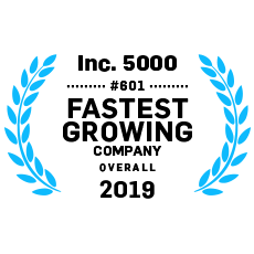 Inc. 5000 #11 Fastest Growing Education Company Overall