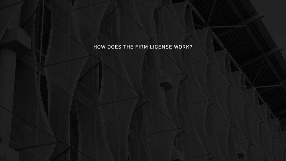 How Does The Firm License Work?