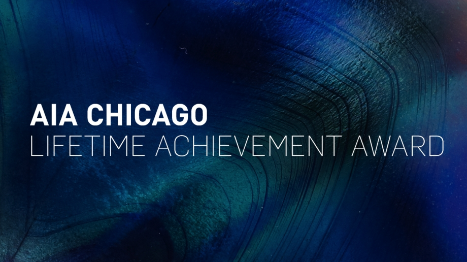 Richard H. Driehaus, AIA Chicago Lifetime Achievement Award 2015