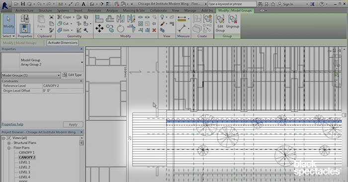 Arraying Roof Shades – Revit 2016 Free Tutorial   Black Spectacles