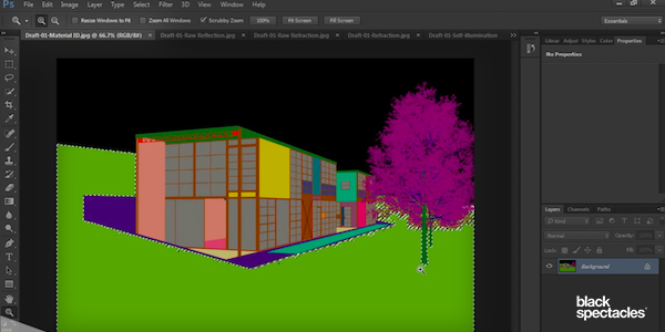 Bringing Rendered Channels into Photoshop with Vray 3 2 for SketchUp