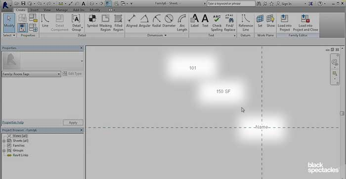 Building a Room Tag with Separate Labels – Revit 2016 Free Tutorial