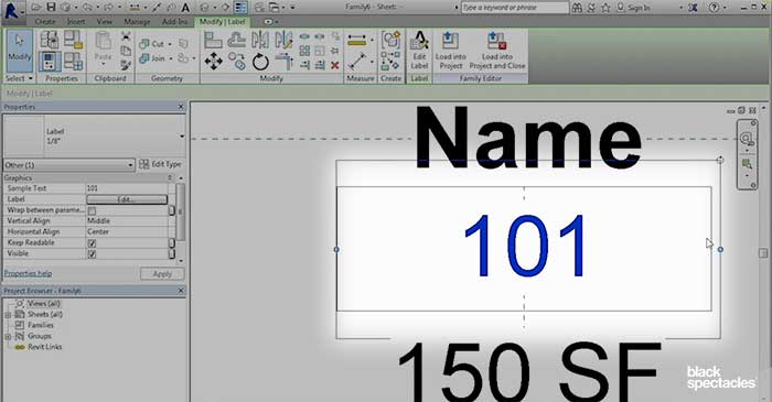 Building a Room Tag with Separate Labels – Revit 2016 Free
