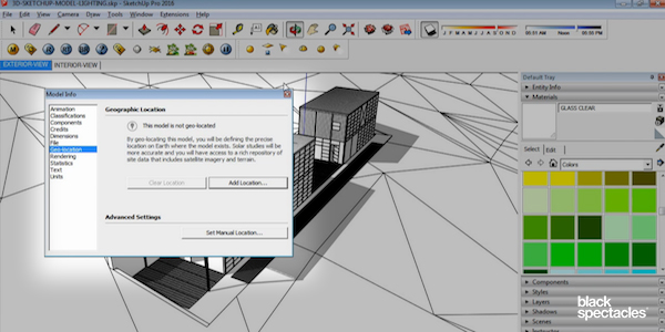 Sun Settings in Vray 3 2 for SketchUp & Rhino 5 Tutorial